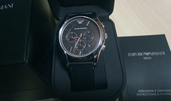 腕時計の箱や備品