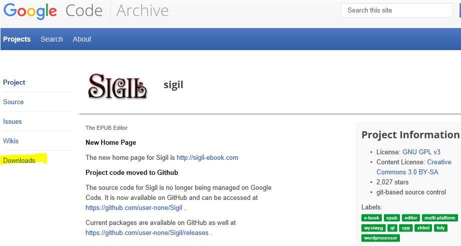 sigilダウンロードGoogle