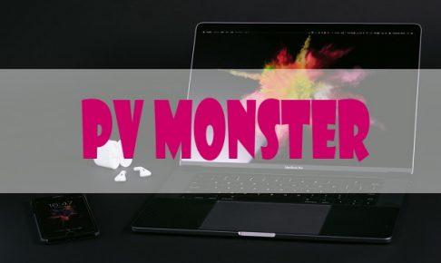 PVモンスター口コミや登録方法