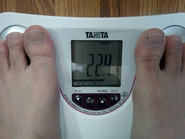 タニタ体組成計体脂肪率