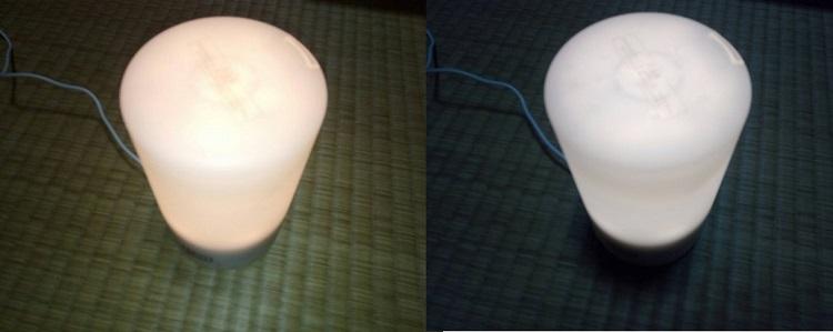 AD-SD2はLIGHTボタンで明るさを3段階切り替えが可能