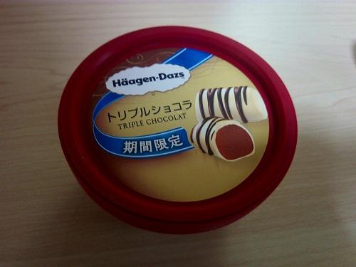 トリプルショコラアイスの商品画像