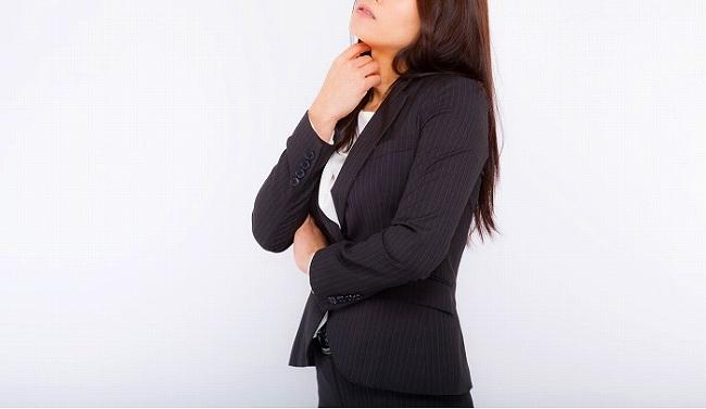 仕事探しに悩む女性