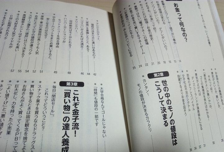 本の目次一覧