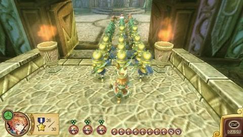 王と魔王と7人の姫君たちゲーム画面