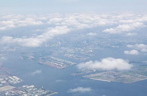 上空から見た工場