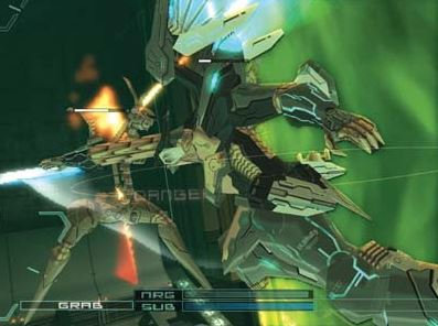 ANUBIS ZONE OF THE ENDERS SPECIAL EDITIONのゲーム紹介画像