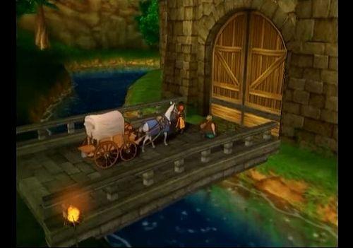 ドラゴンクエスト7のゲーム画面