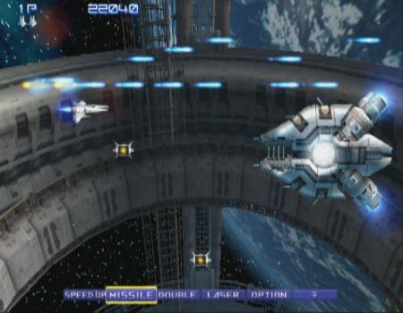 グラディウスVのゲーム画像