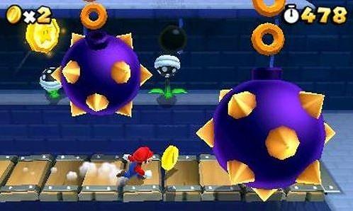 スーパーマリオ3Dランド - 3DSのゲーム画面