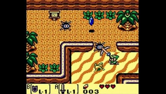 ゼルダの伝説 夢をみる島DXのスクリーンショット