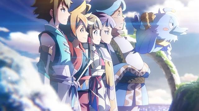 カムライトライブのアニメ画像