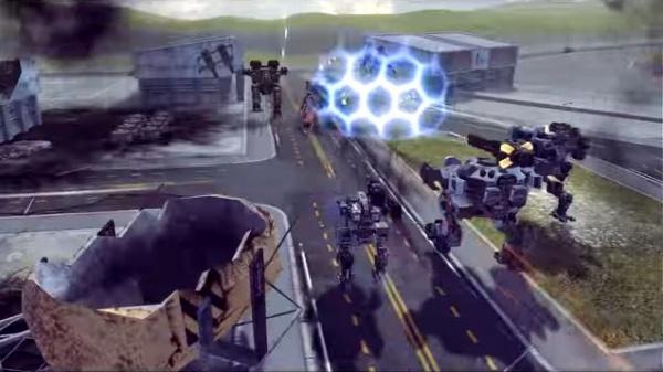 WarRobotsのPV画像