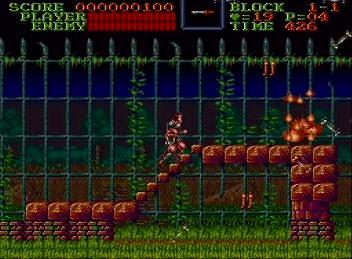 悪魔城ドラキュラ(SFC)のスクリーンショット