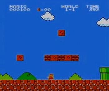スーパーマリオブラザーズのスクリーンショット