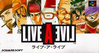 LIVEALIVEのパッケージ画像