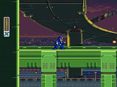 ロックマンXのスクリーンショット