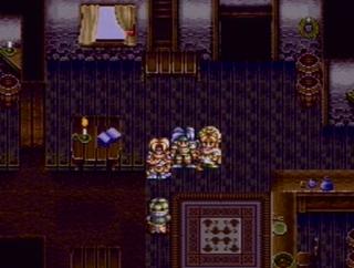 スターオーシャンのゲーム画面