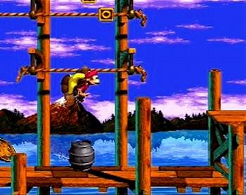 スーパードンキーコング3のスクリーンショット