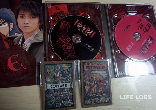 DVDとEカード