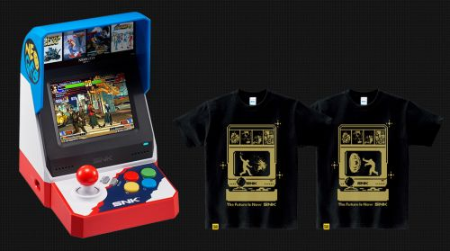 NEOGEO mini + SNK Dot Hero's T
