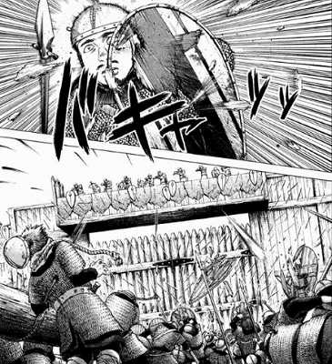 ヴィンランド・サガの戦闘シーン