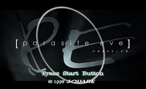 パラサイト・イヴのタイトル画面