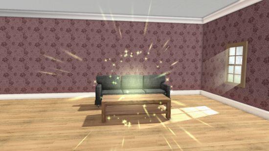 ホームデザインで部屋作り中の画像