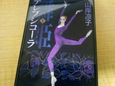 舞姫 テレプシコーラ―の表紙