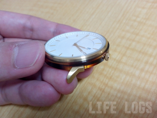 Lagom Watchesの横板部分