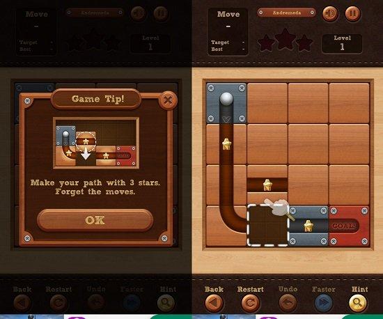 RolltheBallsのゲーム画像