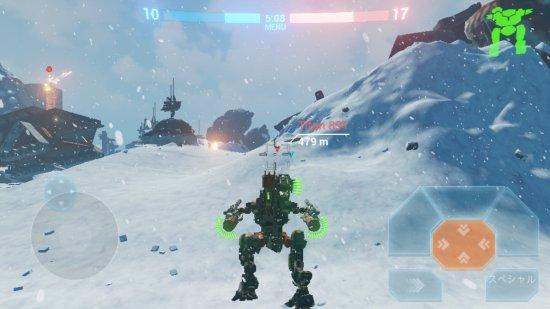B.o.Tの戦闘画像