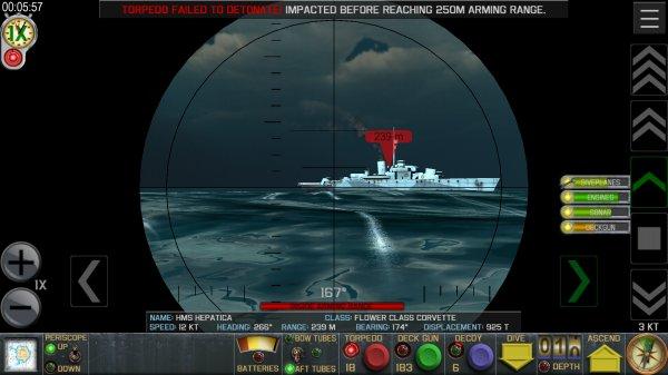 Crash Diveの潜水艦バトルシーン