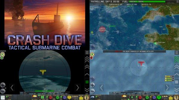 Crash Diveのゲーム紹介画像
