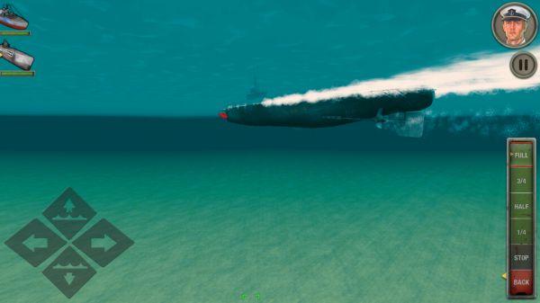 エナミーウォーターズの潜水艦画像