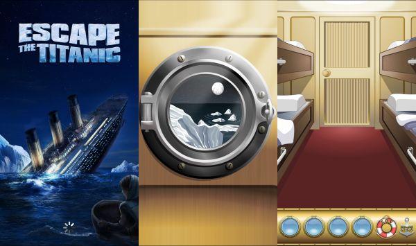 タイタニック船を脱出するゲーム