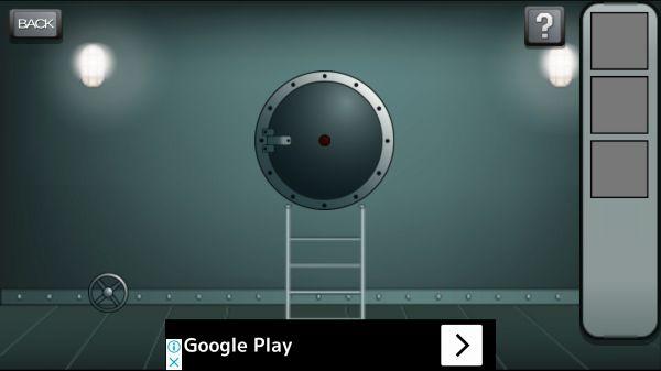 テロ潜水艦エスケープの1ステージ画像