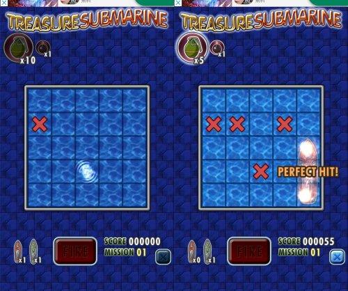 トレジャーサブマリンのゲーム画像