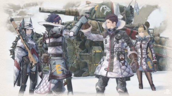 戦場のヴァルキュリア4の画像