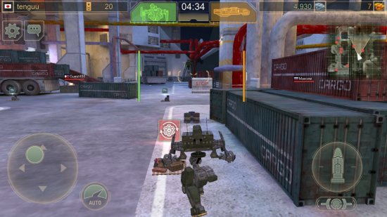 wwrの戦闘フィールド画面