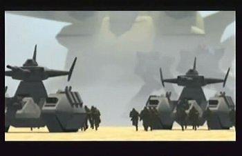 機動戦士ガンダム外伝 コロニーの落ちた地でのオープニング