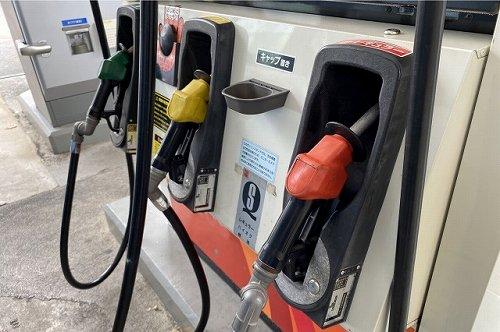 ガススタンドの給油口