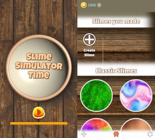 スライムシミュレーターのアプリ画像
