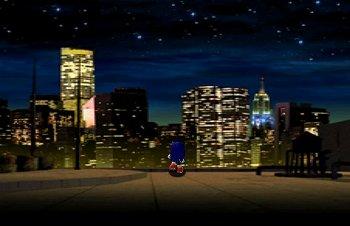 ソニックアドベンチャーのゲーム画面