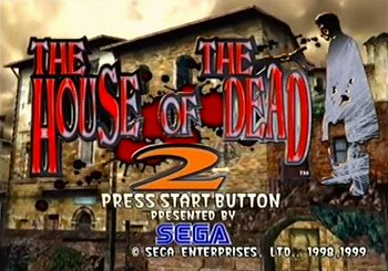 THE HOUSE OF THE DEAD2のタイトル