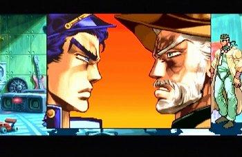 ジョジョの奇妙な冒険 未来への遺産のゲーム画面