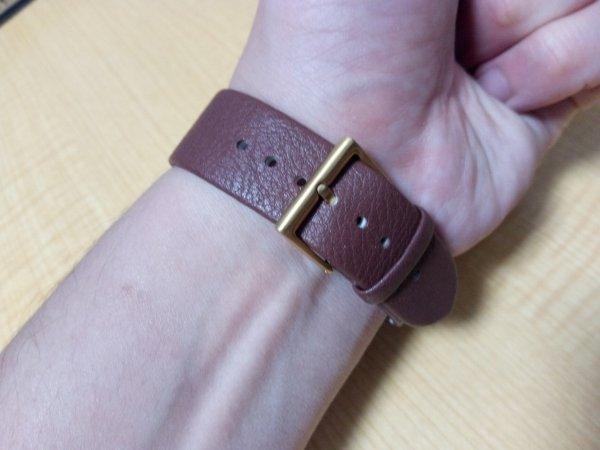 SJÖ腕時計の留め金部分