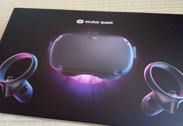 Oculus Questの箱
