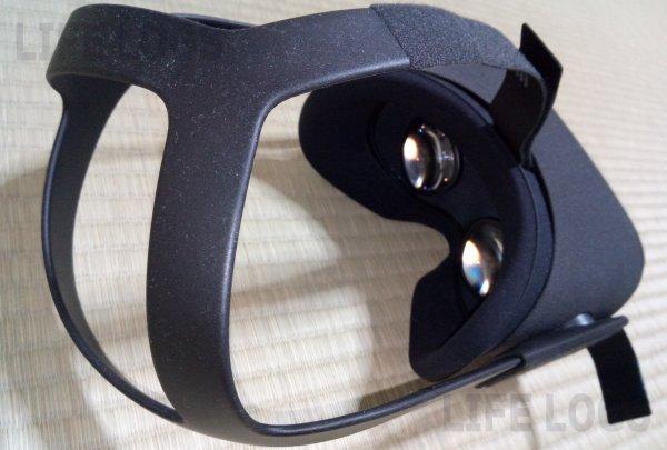 Oculus Questの頭部分