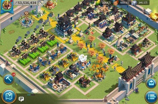 Rise of Kingdoms ―万国覚醒―のマップ画像